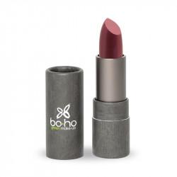 Rouge à lèvres bio transparent Cassis photo officielle de la marque Boho Green Make-Up