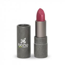 Rouge à lèvres bio nacré couvrant Orchidée photo officielle de la marque Boho Green Make-Up