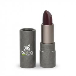 Rouge à lèvres bio glossy Grenat photo officielle de la marque Boho Green Make-Up