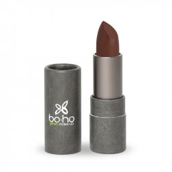Rouge à lèvres bio glossy Bourgogne photo officielle de la marque Boho Green Make-Up