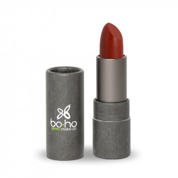 Rouge à lèvres bio glossy Coquelicot photo officielle de la marque Boho Green Make-Up