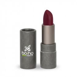 Rouge à lèvres bio glossy Figue photo officielle de la marque Boho Green Make-Up