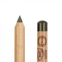 Crayon yeux bio et vegan Vert émeraude photo officielle de la marque Boho Green Make-Up