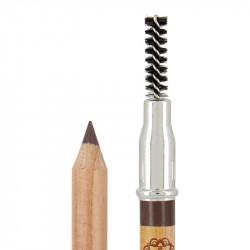 Crayon sourcils bio et vegan Châtain photo officielle de la marque Boho Green Make-Up