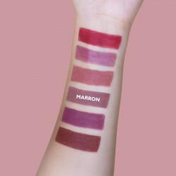 Rouge à lèvres bio mat couvrant 109 Indie **