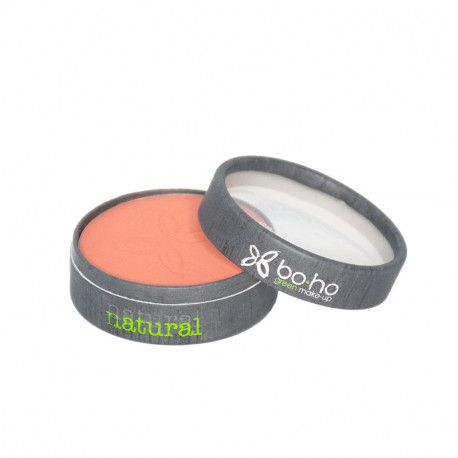 Fard à joues bio Peach photo officielle de la marque Boho Green Make-Up