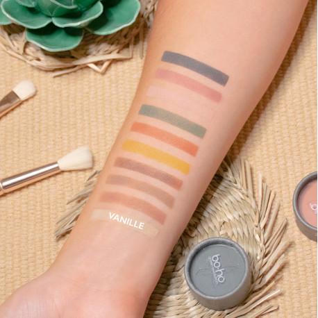 Ombre à paupières bio christèle ouverte photo officielle de la marque Boho Green Make-up