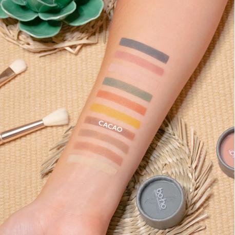 Ombre à paupières bio sofy ouverte photo officielle de la marque Boho Green Make-up