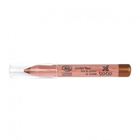 Crayon jumbo yeux bio Cuivre photo officielle de la marque Boho Green Make-Up