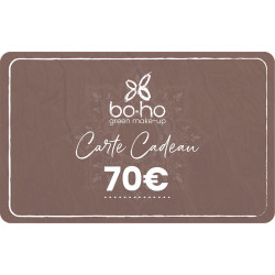 Carte cadeau 70 euros Boho Green Make-up